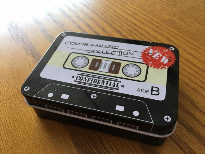 Travel Tin - Cassette Tape